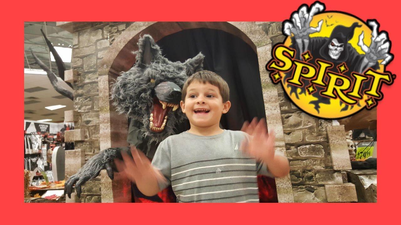 2016 Spirit Halloween Store Tour Youtube