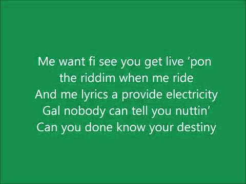 Sean Paul Get Busy Lyrics
