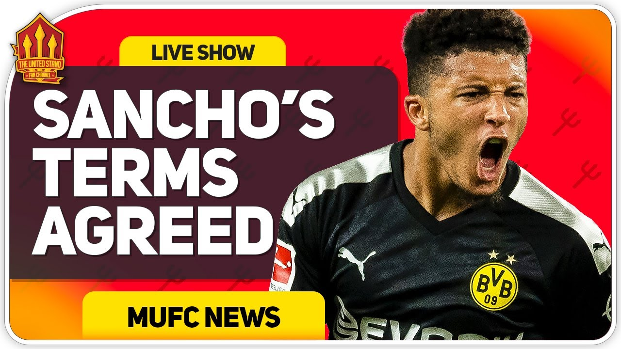SANCHO Personal Terms Agreed! Solskjaer Press Conference Reaction! Manchester United vs Lask Linz
