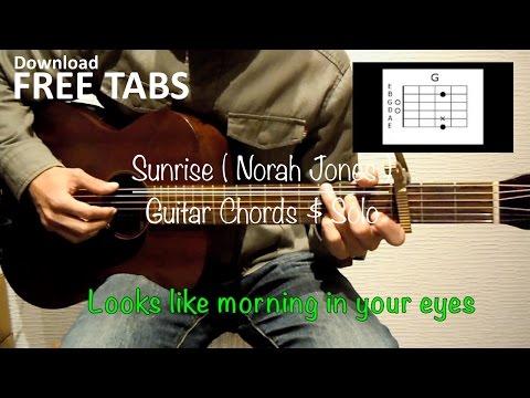 Sunrise (Norah Jones) - Guitar Chords & Solo / Takashi Terada