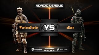 eBash vs WartimeDignity Nordic League Conquest 8on8