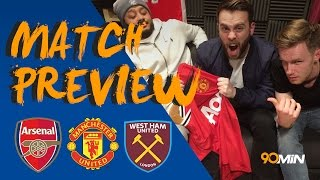 Will Man United beat Liverpool at Old Trafford!? | Payet to leave West Ham!? | 90min Preview | 90min Football