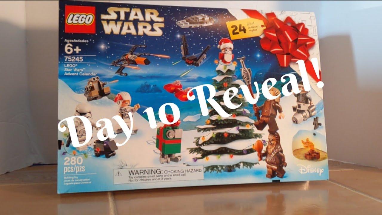 lego star wars advent calendar 2019 day 10 reveal youtube. Black Bedroom Furniture Sets. Home Design Ideas