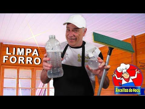LIMPA TETO E FORRO PVC com rapidez e eficácia
