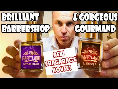 Brlliant Barbershop and Gorgeous Gourmand Fragrances - Happyland Studio Review
