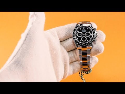 Rolex Cosmograph Daytona Black Dial 116500LN - Unboxing