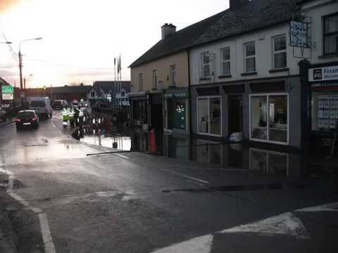 Tullow Co. Carlow Flooded
