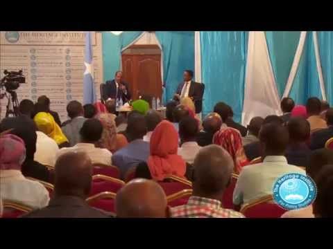 Special Forum for Ideas in Mogadishu - Somalia Part 2