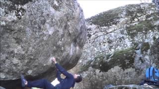 Boulder El Escorial.-Flety Chety 7b -Control machete 7c