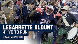 LeGarrette Blount Blows Past Texans Defense for 41-Yard TD!   Texans vs. Patriots   NFL