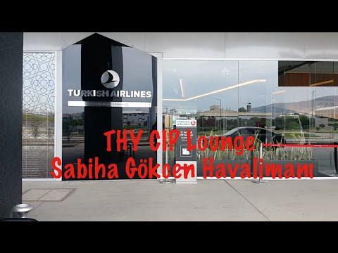 THY CIP Lounge/ Sabiha Gökçen Havalimanı / Gezi Notlarım