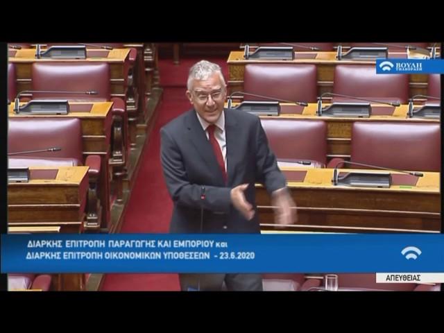 Βολουδάκης στην Επιτροπή Οικονομικών της Βουλής για τραπεζικό σύστημα - χρηματοδοτήσεις μικρομεσαίων