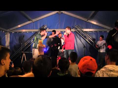 Sanch Vs Viti Octavos - Batalla de Gallos tetuan -2014-