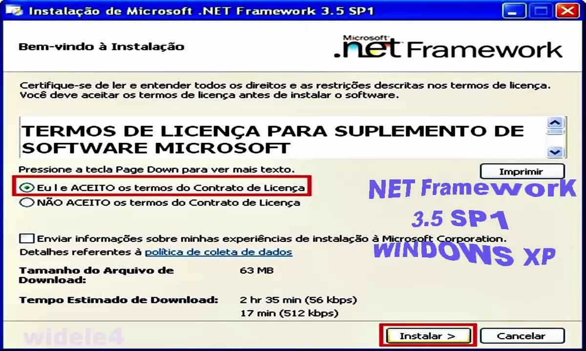 download microsoft .net framework 3.5 sp1
