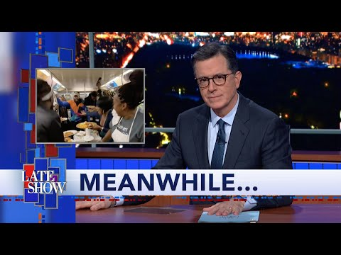 Steve Powers - Thanksgiving on a New York Subway, cannabis gravy, and more with Colbert