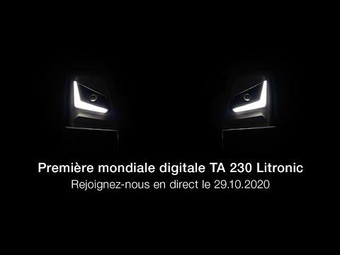 Liebherr - Première mondiale digitale du nouveau TA 230 Litronic