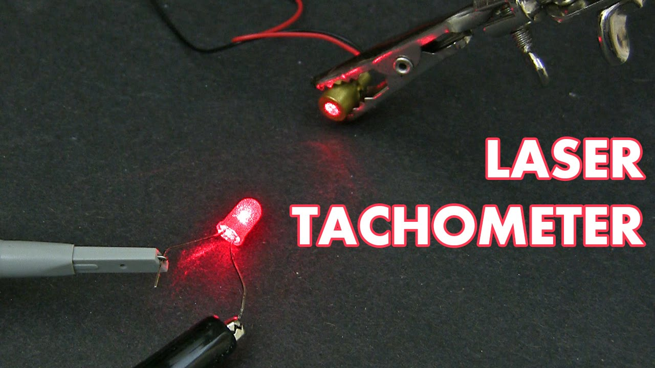 How To Build A Simple Laser Tachometer Youtube