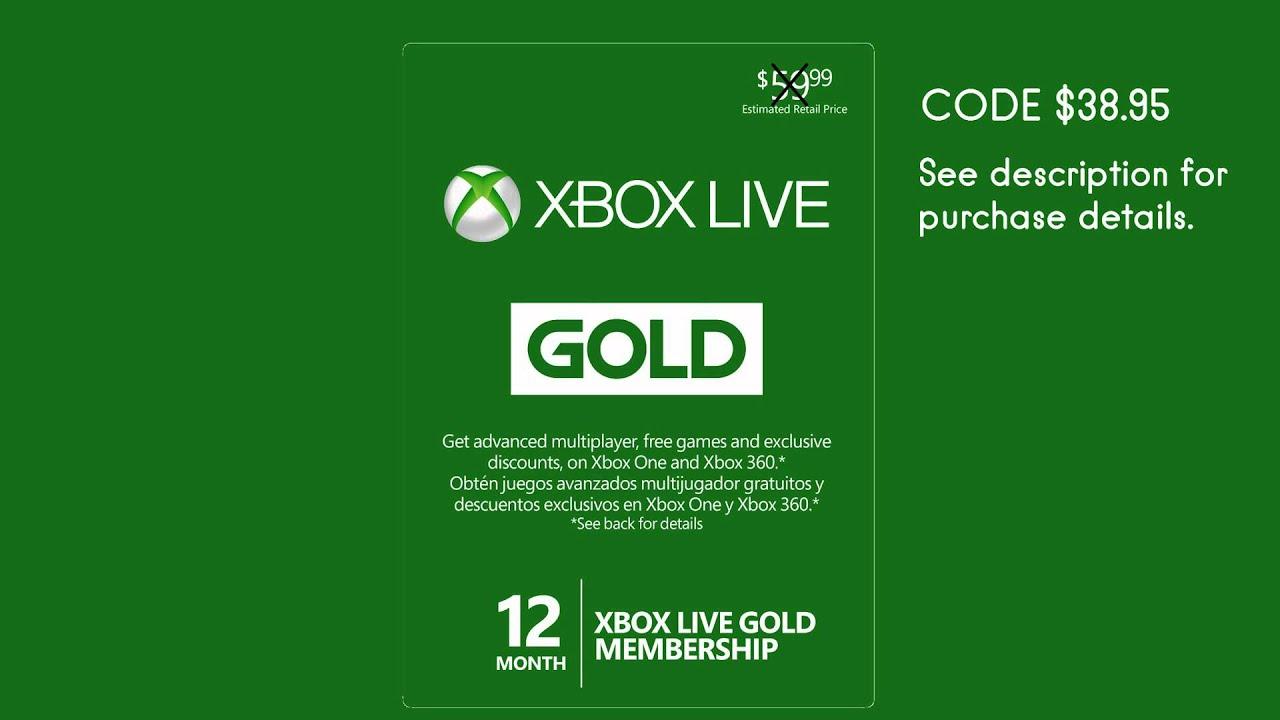 Xbox One Live Code Einlösen