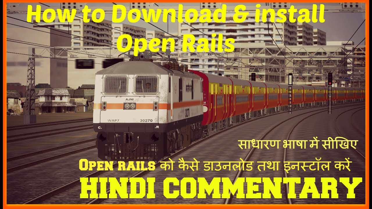 HOW TO DOWNLOAD & INSTALL NFR ROUTE IN MSTS by Diwakar's Creative World