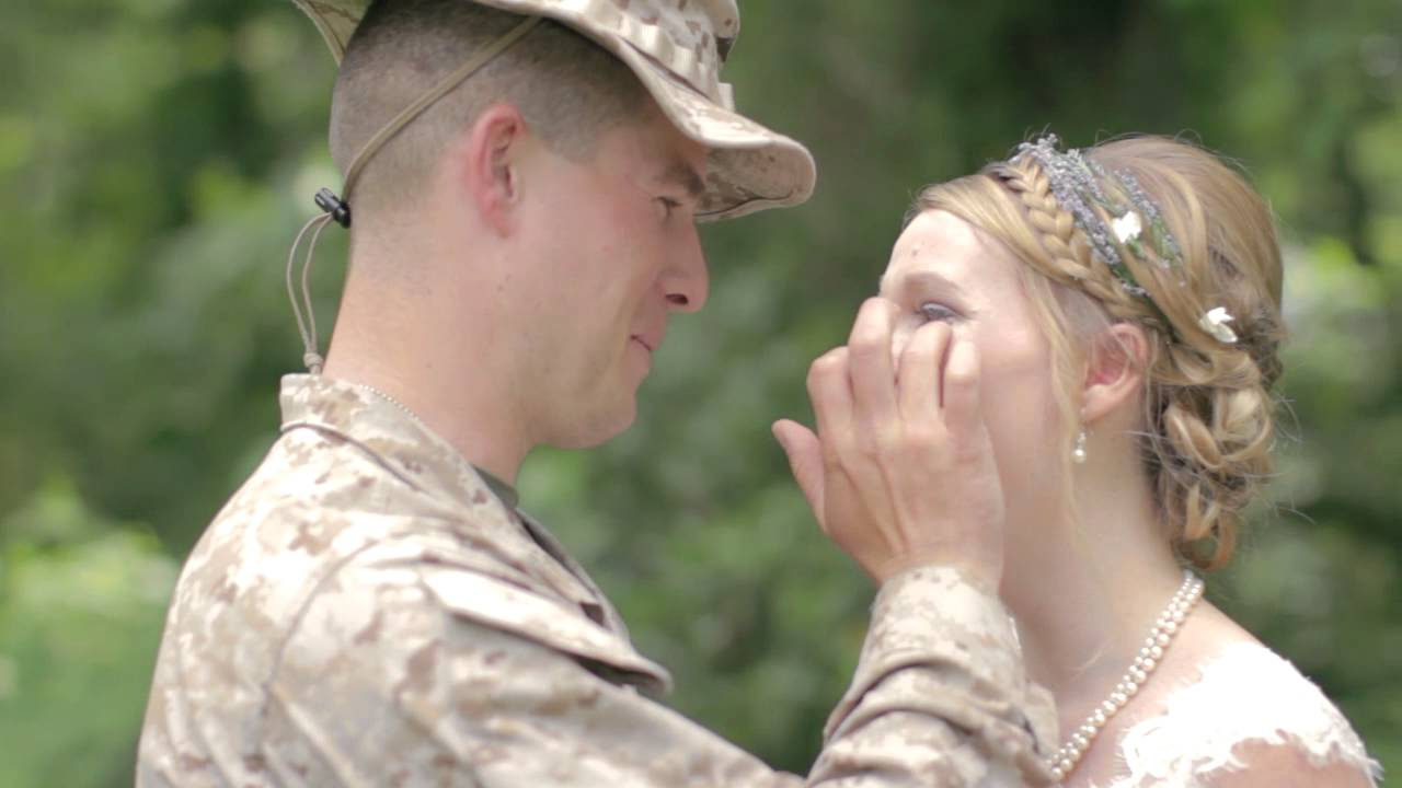 Marine Surpises His Sister On Her Wedding Day Youtube
