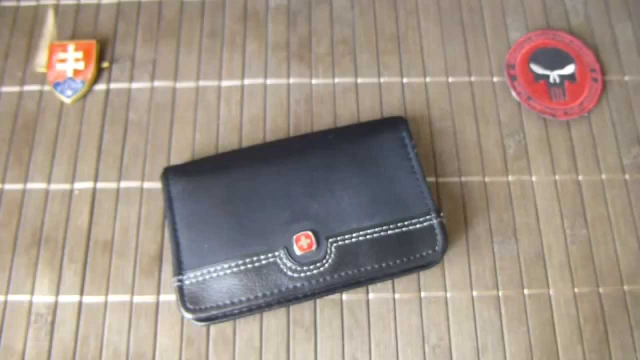 Wenger swiss rhea black business card case youtube wenger swiss rhea black business card case colourmoves