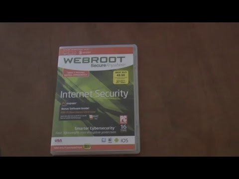 Review of Webroot Internet Security