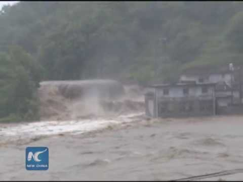 Yangtze River reports first flood peak