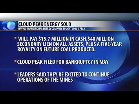 Cloud Peak Sells Montana, Wyoming Coal Mines
