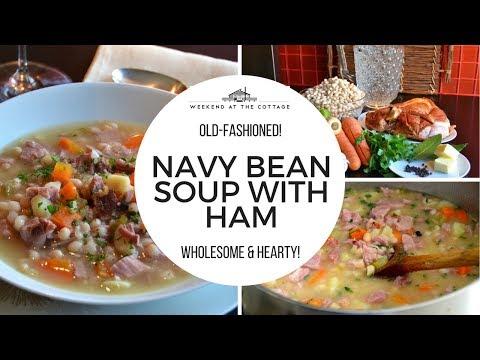NAVY BEAN SOUP WITH HAM recipe!