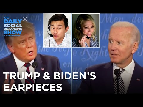 What Were Trump and Biden Listening to in Their Debate Earpieces?   The Daily Social Distancing Show