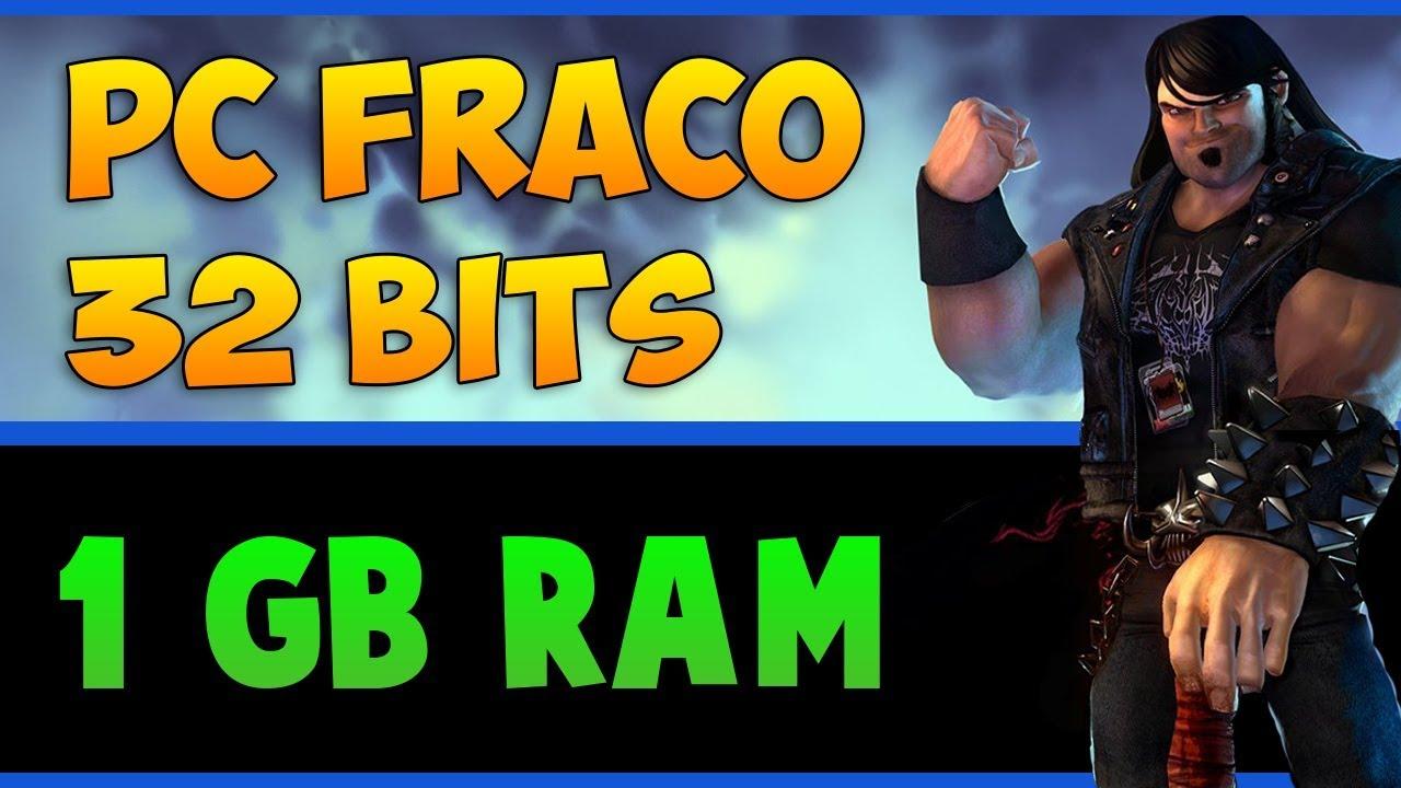 Melhores Jogos para PC FRACO (1 GB RAM, 2 GB RAM)