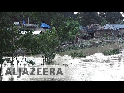 Nepal floods: Farmland and food wiped out