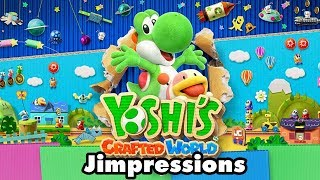 Yoshi's Crafted World - Wooly Jumper (Jimpressions) (Video Game Video Review)