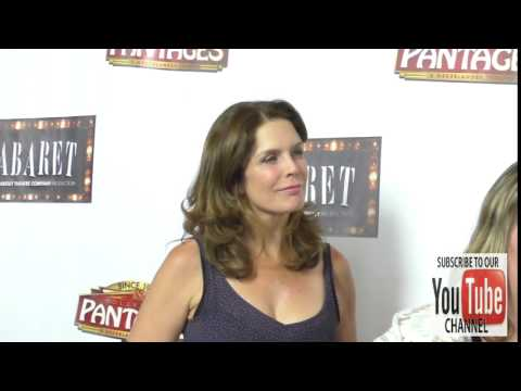 Megan Gallagher at the Opening Of Cabaret At Hollywood Pantages Theatre