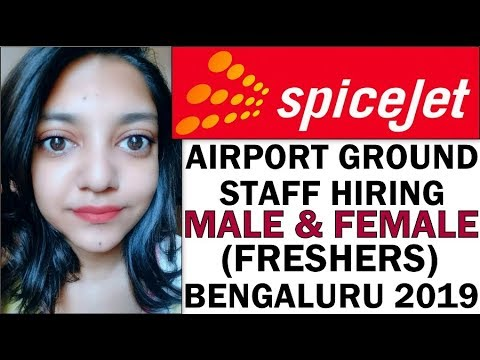 Spicejet Airlines Ground Staff Jobs | Graduate Freshers Male And Female Apply (Bengaluru Airport)