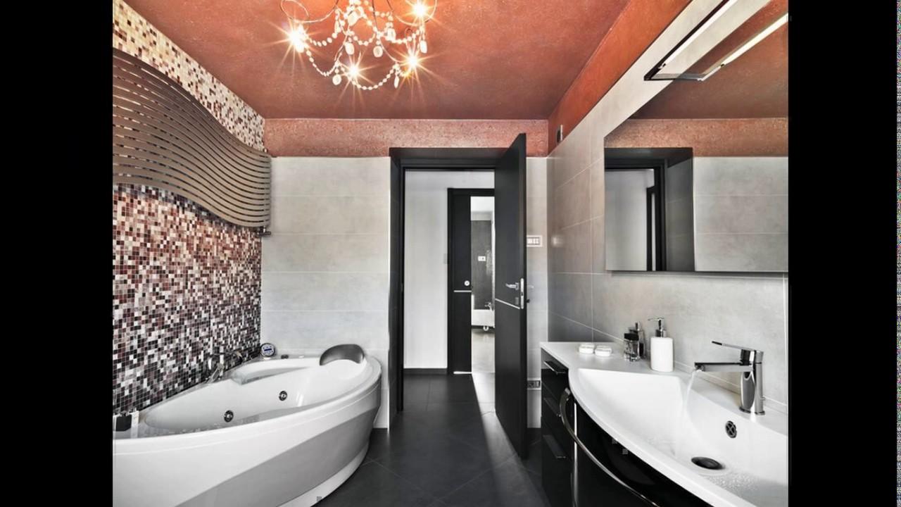 Bathroom Design Dark Floor Light Walls