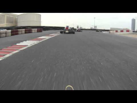 UAE Rotax Max Challenge Round 5 - Senior Rotax Pre-Final - Go Pro HD Hero
