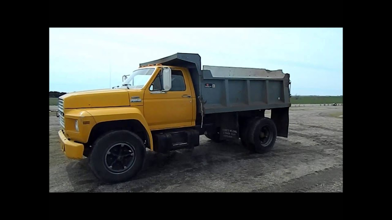 1982 Ford F700 Dump Truck For Sale Sold At Auction June 4 2013 1980 Bucket