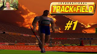 AIMING FOR GOLD | Espn International Track And Field (Sega Dreamcast)