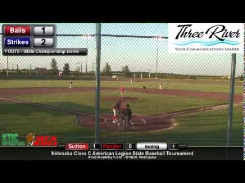 Nebraska American Legion Class C Championship Game - Pender v. Sutton 3