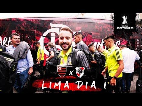Mengão realiza primeiro treino em Lima (21/11/2019)