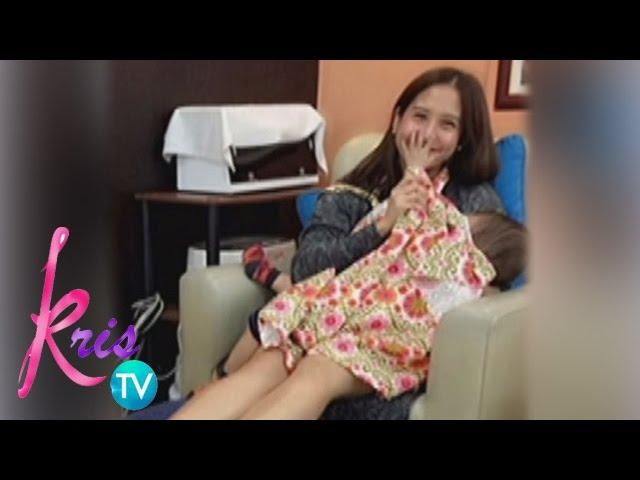 Kris TV: Jolina still breastfeeds Pele