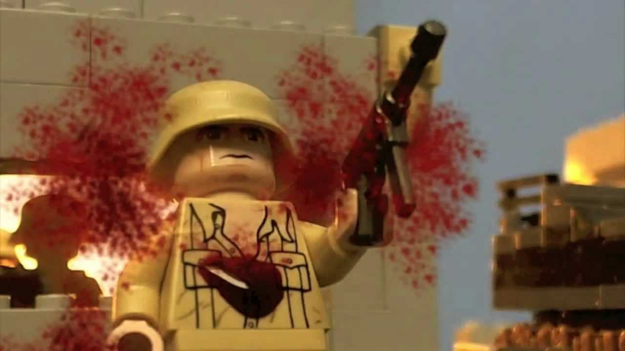 Lego ww2 north africa battle stopmotion youtube sciox Choice Image