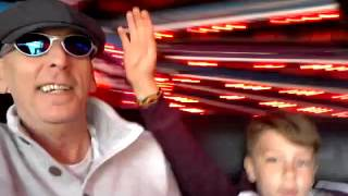 Stan and Grandad on the Waltzers 2016