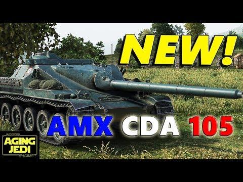AMX Canon d'assout de 105 Premium French Tank Destroyer Review & Guide - World of Tanks