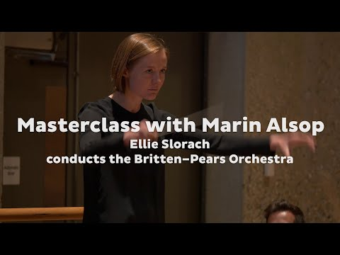 Romeo & Juliet: 'Dance of the Knights' • Marin Alsop conducting masterclass • BPYAP • Snape Maltings