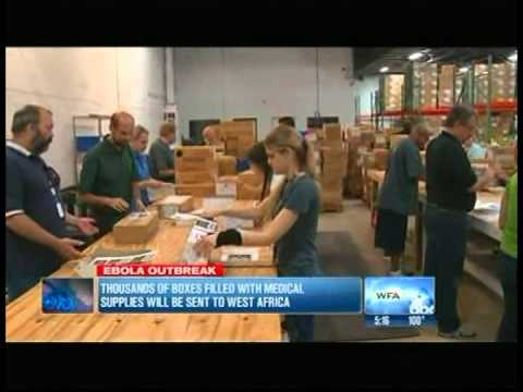 MediSend Ships Supplies to West Africa news coverage