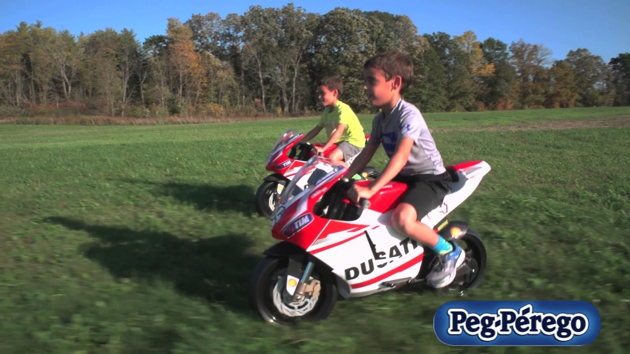 motorcycle toy ducati gp by peg perego youtube. Black Bedroom Furniture Sets. Home Design Ideas