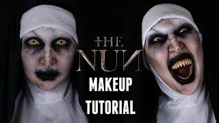 The Nun Valak Halloween Makeup Tutorial