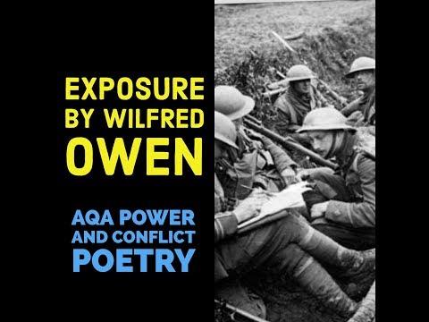 Видео Wilfred owen exposure essay